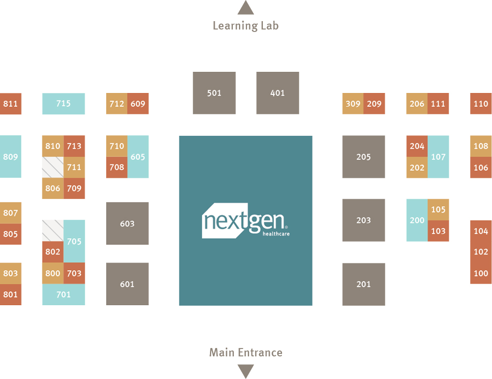 UGM 2018 Expo Hall Map